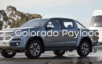 Holden Colorado Payload Calculator